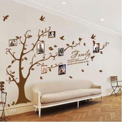 Arbol de Vinil Decorativos para Poner Fotos, vinilos decorativos df