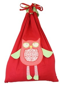 Owl Santa sack - just perfect for the little ones
