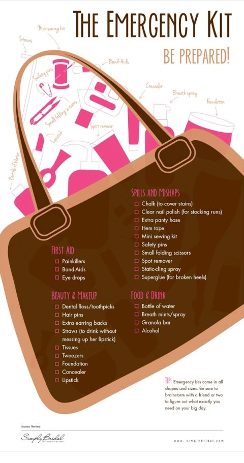 Wedding Day Kits « Wedding Ideas, Top Wedding Blog's, Wedding Trends 2014 – David Tutera's It's a Bride's Life
