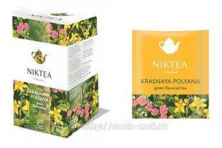 Krasnaya Polyana Niktea, Пакетированный Чай Красная Поляна - Пакетированный чай NikTea