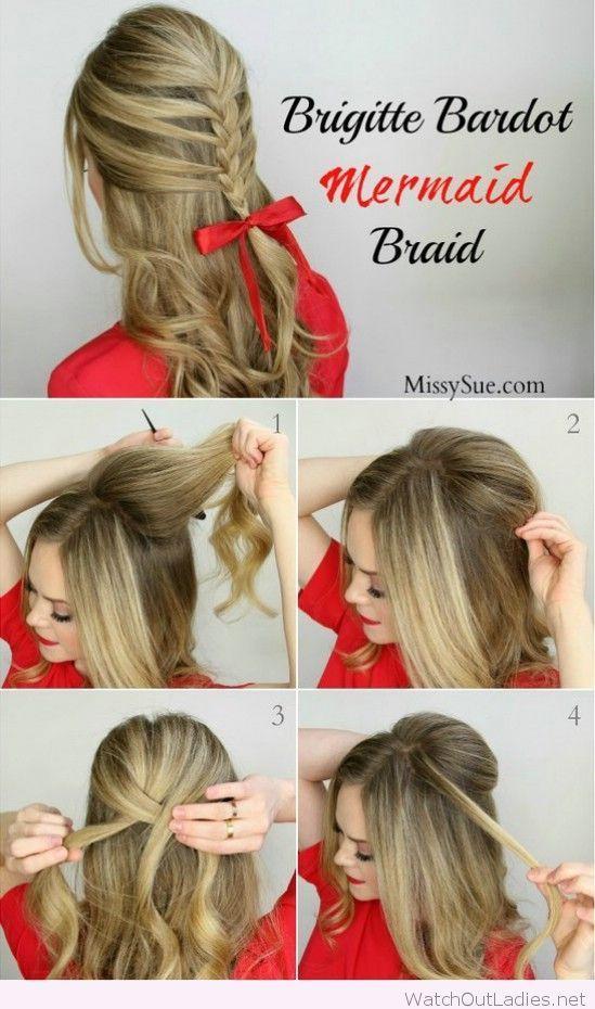 Amazing braid tutorial for Christmas