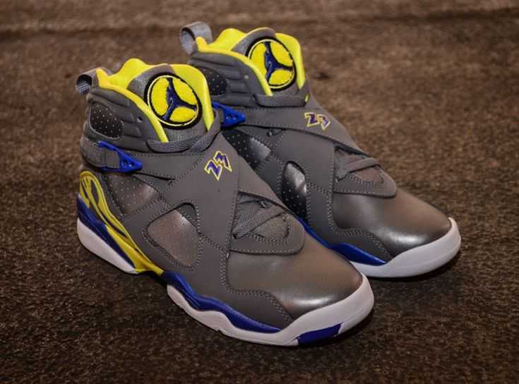"Air Jordan VIII Retro GS ""Laney"" – Release Date"