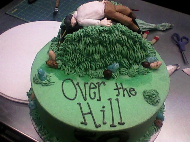 Edible Images Cool Over The Hill Cakes Pinterest ...