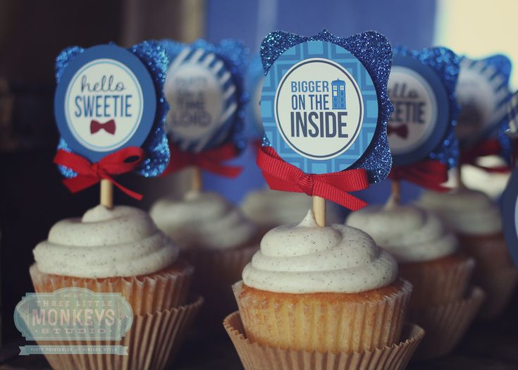 Doctor Who Party Ideas by  Three Little Monkeys Studio