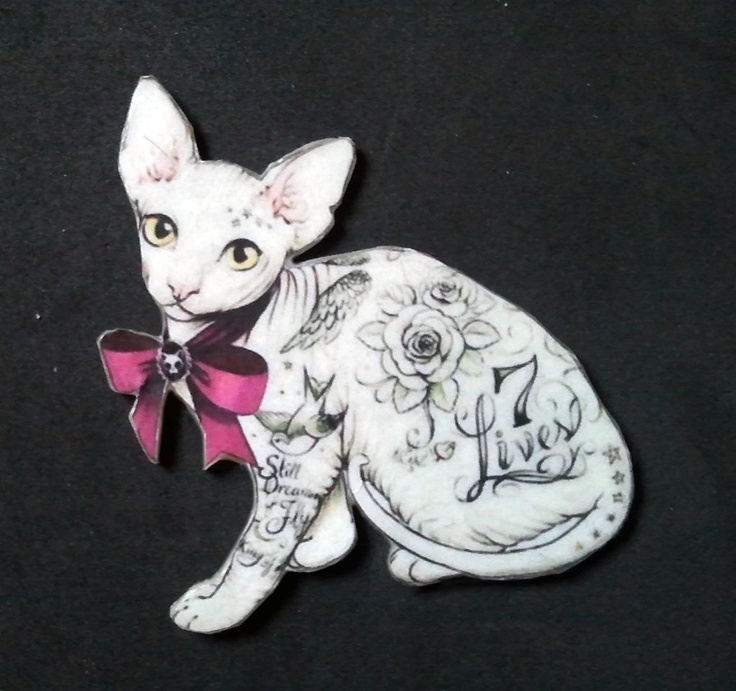 13 best images about sphynx on pinterest cats rare for Hairless cat tattoo