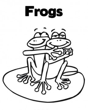 frogs coloring page - Coloring Pages Frogs Toads
