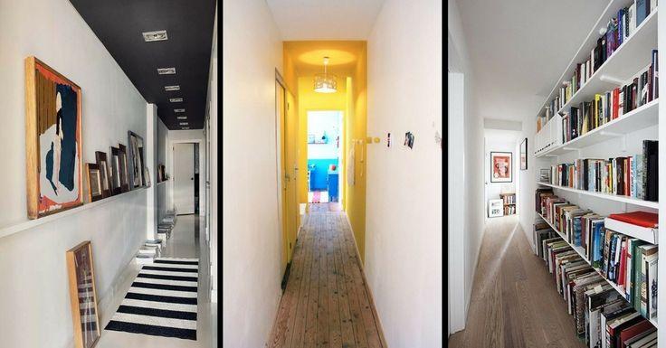 Votre couloir est long et étroit ? Découvrez 11 astuces, idées et conseils QUI FONCTIONNENT pour la décoration et l'aménagement d'un couloir long et étroit.