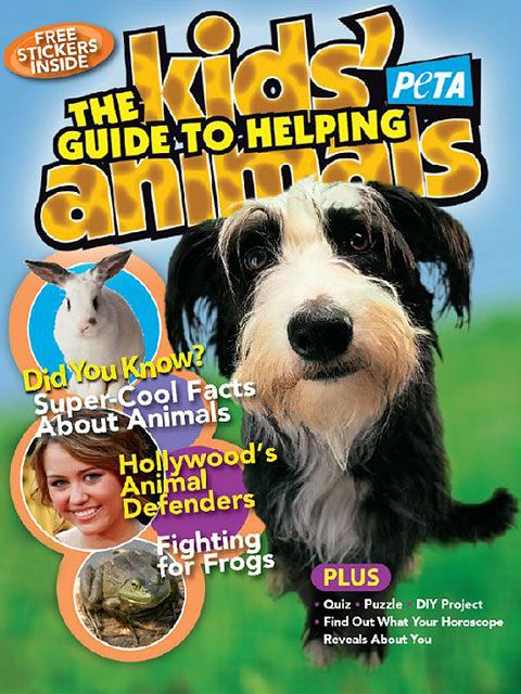 Free magazine for kids: Kids' Guide to Helping Animals