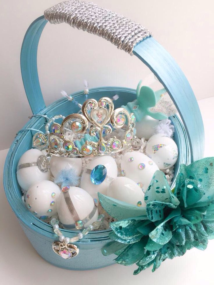 28 best frozen themed easter images on pinterest easter eggs frozen themed easter basket negle Image collections