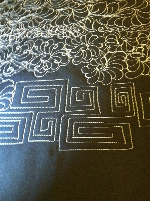 46 best Stippling quilts images on Pinterest | Knitting tutorials ... : how to stipple quilt by machine - Adamdwight.com