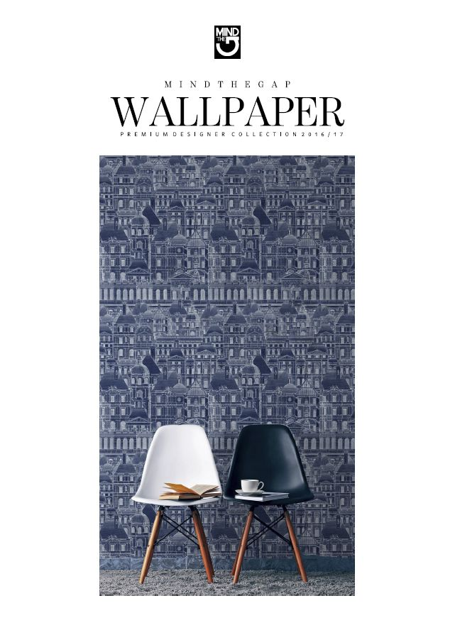 Our first collection of design wallpaper is now launched! MINDTHEGAP Wallpaper Collection 2016/17 can be seen online and soon the wallpapers will be available on our online shop!