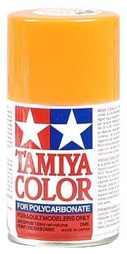Tamiya Polycarbonate PS-23 Gun Metal Spray Paint by Tamiya America, Inc. $8.35. Expect additional time for shipping. This product cannot be shipped expedited. Spray Paint must be shipped by ground and can not be shipped to APO or FPOs. Specially developed for decorating transparent polycarbonate bodies used in R/C car modeling. An appropriate amount of paint for finishing one R/C model. This paint is impervious to oil and fuels, so they can be safely used on gas-powered R/C...