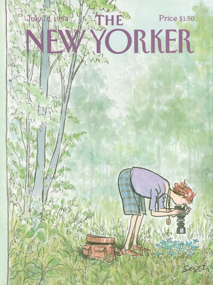 The New Yorker - Monday, July 16, 1984 - Issue # 3100 - Vol. 60 - N° 22 - Cover by : Charles Saxon