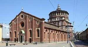 """Santa Maria delle Grazie, Milan - Home of da Vinci's fresco """"The Last Supper"""""""