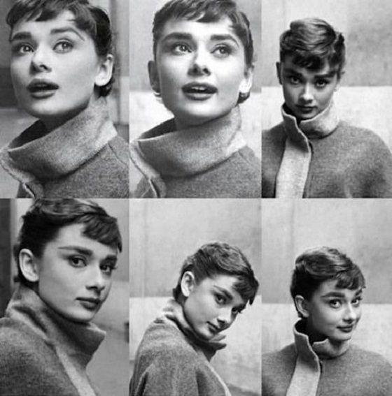 Ha szeretnénk megérteni valakit, ne csak a szavait hallgassuk, figyeljünk a viselkedésére is… (A képen - Audrey Hepburn 6x)
