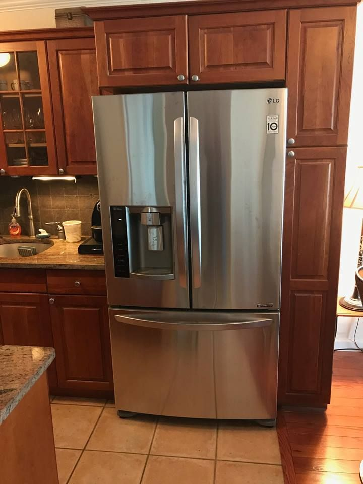 Lg Lfx21976st 36 Inch Counter Depth French Door Refrigerator Counter Depth French Door Refrigerator French Door Refrigerator Kitchen