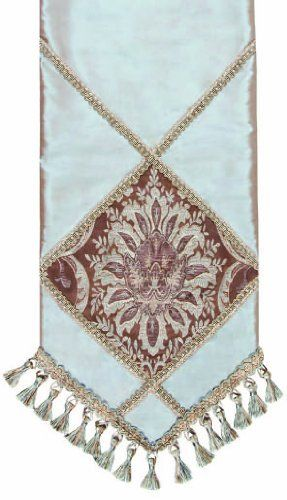 Jennifer Taylor 2730-532604 Table Runner, 16-Inch by 120-Inch, Cover 100-Percent Polyster by Jennifer Taylor. $115.07. Home decor brings classic style and luxurious comfort to the home. Table runner cover 100-percent polyster. With braid and tassels. Jennifer Taylor Table Runner, 16--inch by 90-inch, Cover 100-percent polyster, with braid and tassel trim, Classic Style, home-decor-products