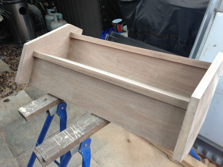 Hand built stairs ready to be installed.