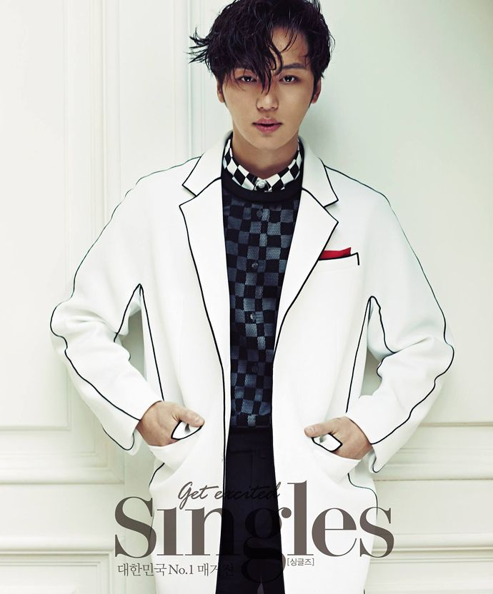 BYUN YO HAN MIXES UP HIS STYLE FOR SINGLES' FEBRUARY 2015 ISSUE