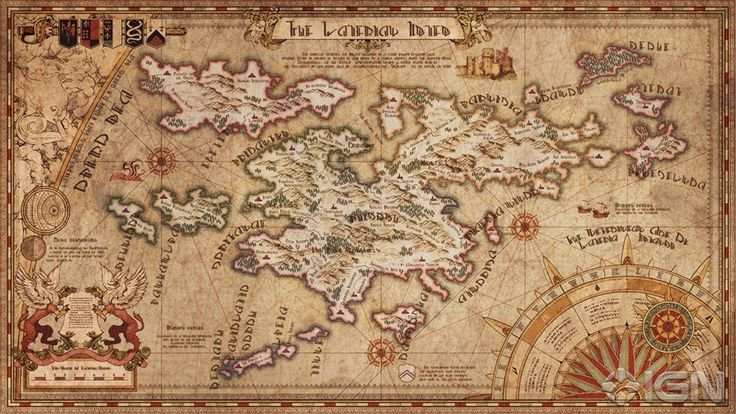 Tactics Ogre map - very inspirational
