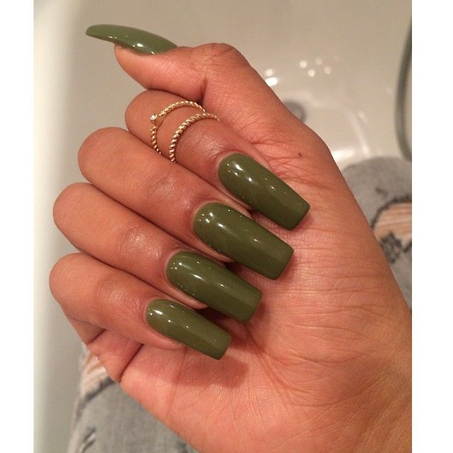 How To Make Olive Green Nail Polish: Pin By Soso. On Nails & Rings. In 2019