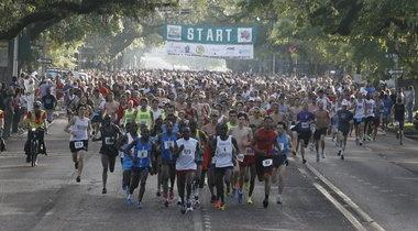 The annual Azalea Trail Run. ran this in high school