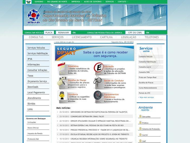 www.detran.rn.gov.br Entrar Agora - Pergunte Tecnologia