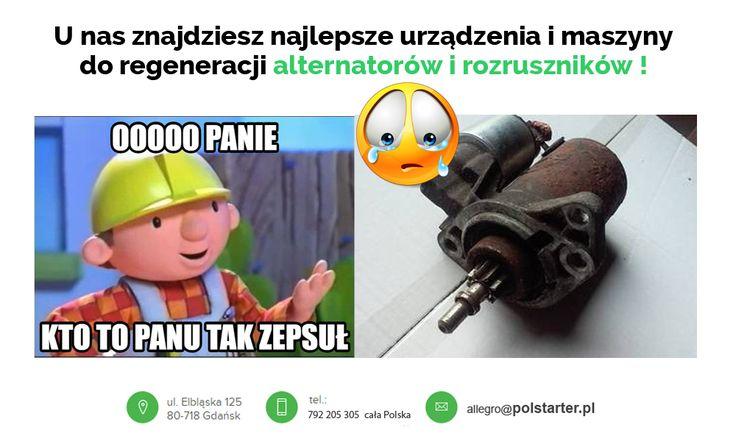 🔲 U nas znajdziesz najlepsze urządzenia oraz maszyny do regeneracji alternatorów i rozruszników !  🔲 Więcej informacji w linku: ➜ http://www.polstarter.pl/maszyny-i-urzadzenia,52,pl.html  ✔ Odwiedź także nasz sklep internetowy: ➜ www.sklep.polstarter.pl  🔲 KONTAKT: 📲 792 205 305 ✉ allegro@polstarter.pl  #rozrusznik #alternator #rozruszniki #alternatory #samochód #samochody #motoryzacja #części #samochodowe #oferta #maszyna #regeneracja #bendiks #urządzenie
