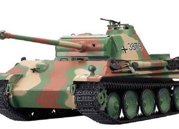 1:16 RC Smoking Tank DAK Pz.Kpfw.IV Ausf.F-1 Tiger Panzer