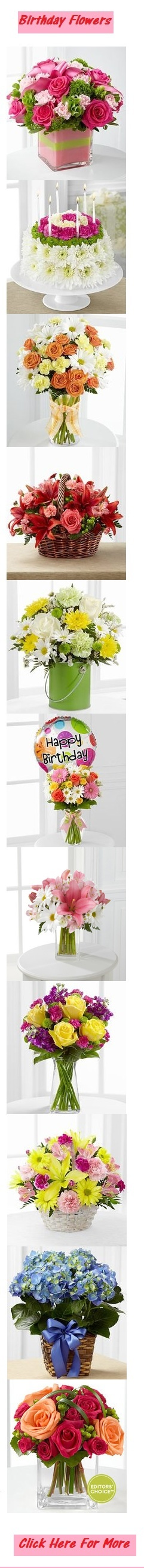 Beautiful #Birthday #Flower #Bouquet visit http://www.squidoo.com/cheap-flowers-delivered-cheap-valentines-flowers-cheap-flowers-delivery