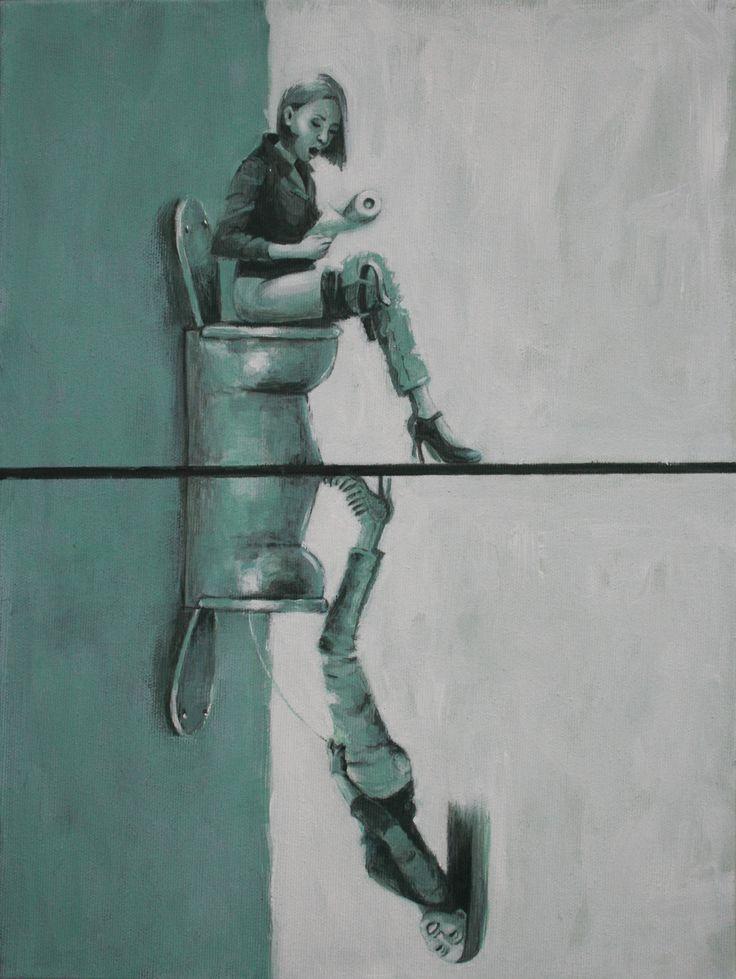 Vania Elettra Tam - Middlesex - 2014 - 40x30 cm - acrilico su tela