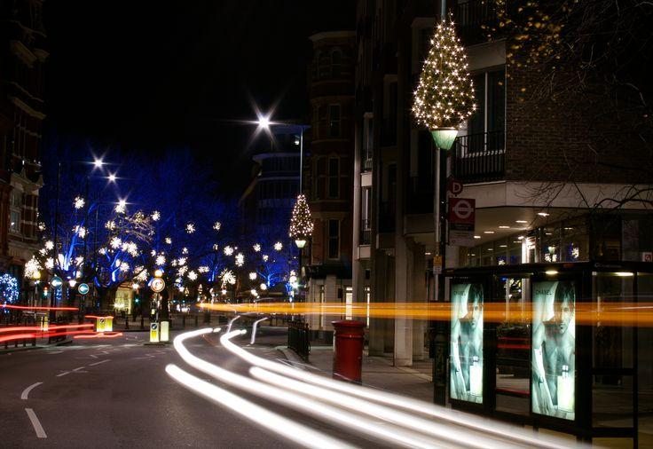 Sloane Square, London @ night