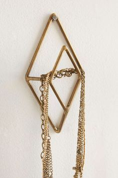 Geo Pentagon Wall Sculpture | Wall Hooks, Hooks and Urban Outfitters