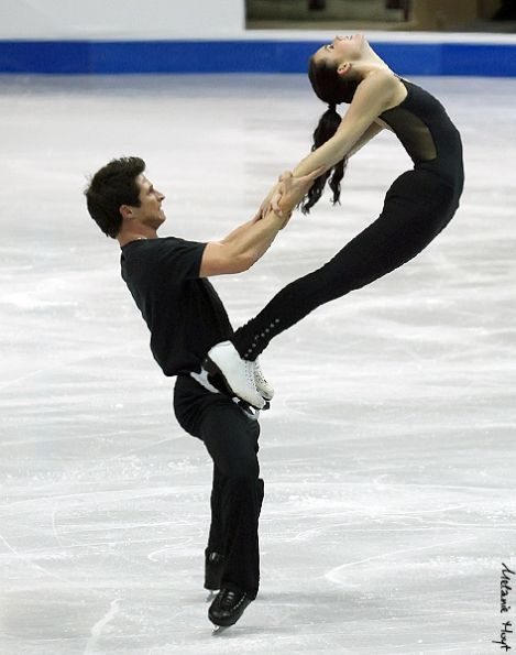 Tessa and Scott 2012 SC practice FD