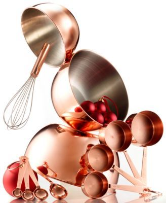 Martha Stewart Collection Copper-Plated Baking Gift Set, Total Value $155, Only at Macy's | macys.com