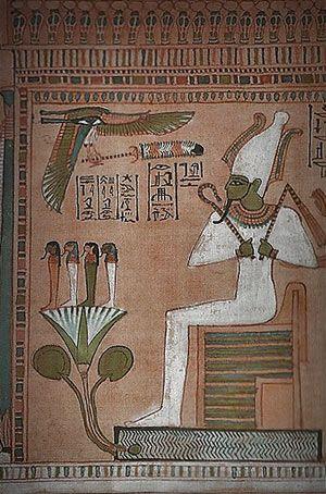 OSIRIS  God of the Underworld, Crop Fertility, Renewal, & Resurrection.