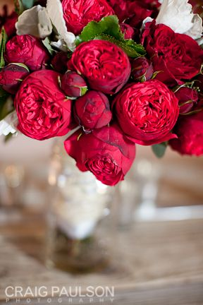 Red Garden Rose Bouquet 47 best red/ burgundy flowers images on pinterest | burgundy