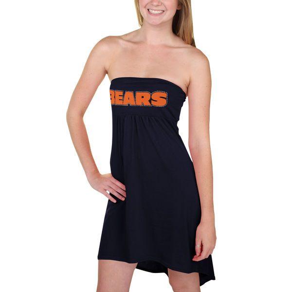 Chicago Bears Women's Game Changer Tube Dress – Navy Blue - $39.99