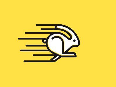 12 Best Logo Images On Pinterest Bunny Logo Rabbits And Logo Branding