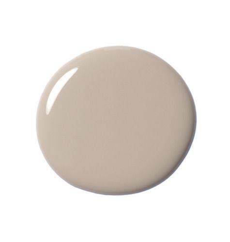 A drop of beige nail polish