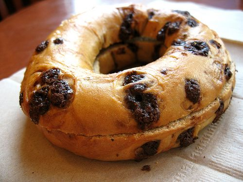 The kids will love this Chocolate Chip bagel recipe! http://www.rewards4mom.com/top-10-homemade-bagel-recipes/