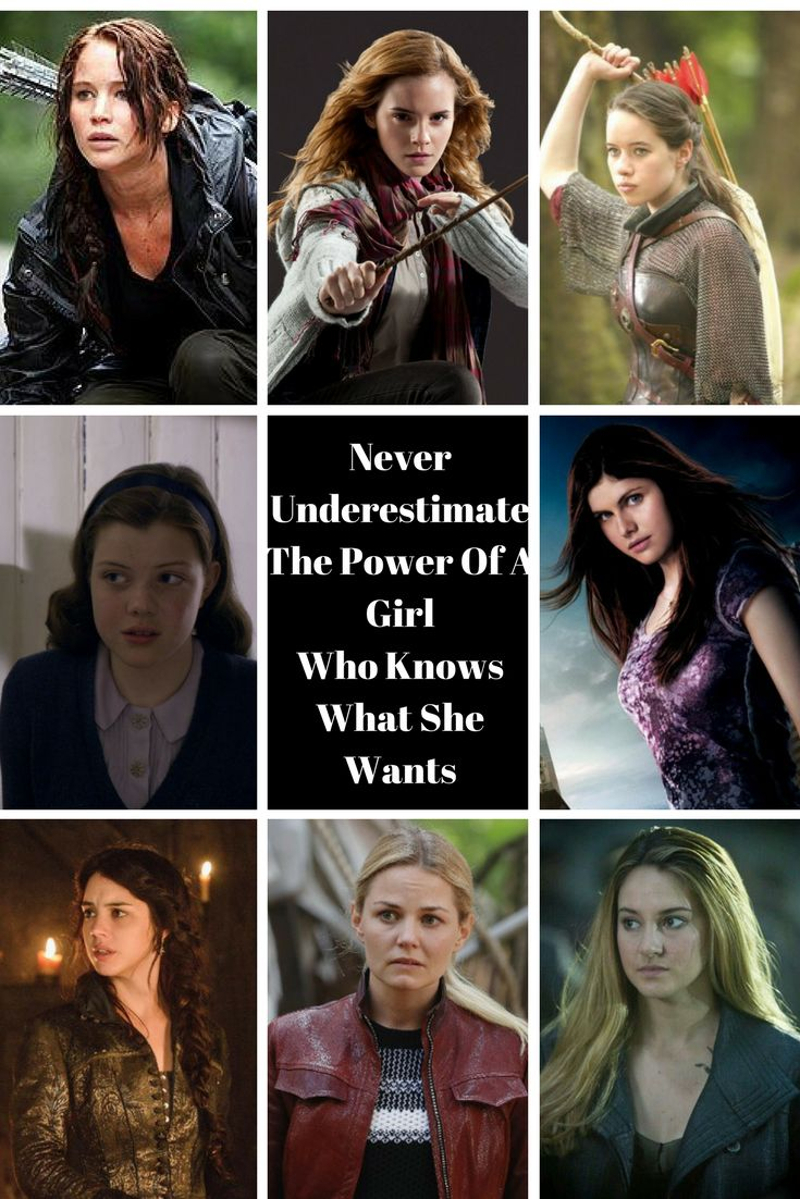 Katniss Everdeen ( The Hunger Games ), Hermione Granger ( Harry Potter ), Susan Pevensie ( Narnia ), Lucy Pevensie ( Narnia ), Annabeth Chase ( Percy Jackson ), Mary Stuart ( Reign ), Emma Swan ( Once Upon A Time ), Tris Prior ( Divergent ), YA Fiction, Girl Power, Allyson Bonny