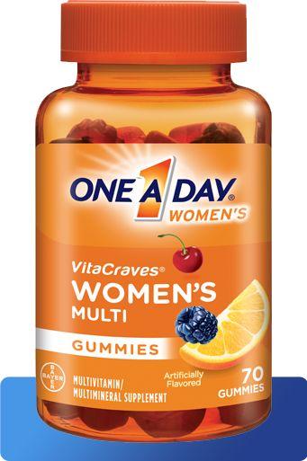 Gummy vitamins for women - One A Day Women's VitaCraves Gummies
