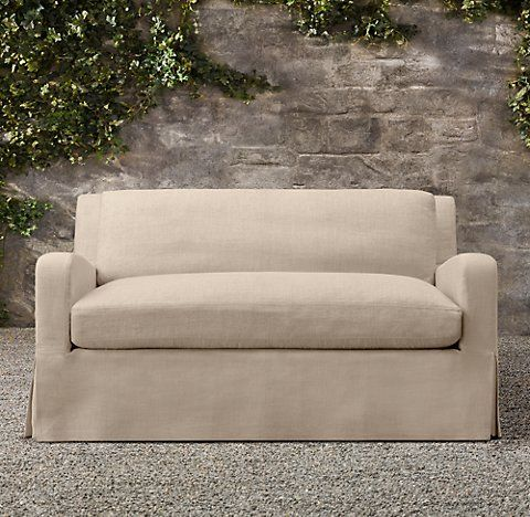 belgian slope arm outdoor collection rh