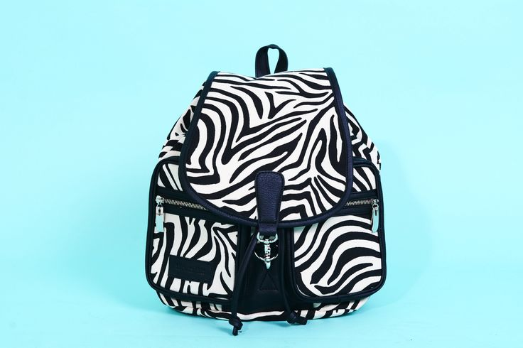 MOCHILA FOREST CANVAS CEBRA