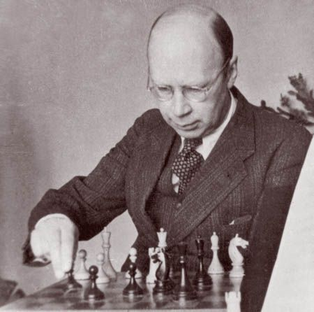 "Did you know? Sergei Prokofiev was a master chess player, and you can even ""watch"" some of his moves on this online chess database!"