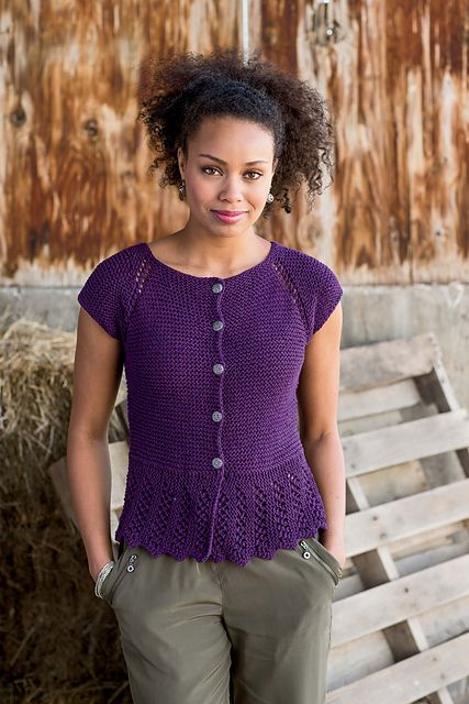 Ravelry: Go To Market Cardigan pattern by Donna Kay