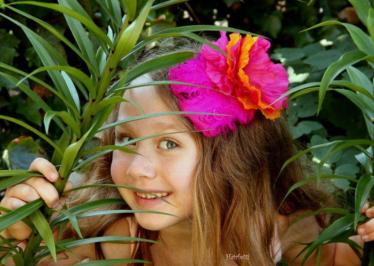 Tropical Punch tropical hair flower clip tiki hair clip luau party dress up dance hair piece ballroom dress up  tropical headpiece (26.50 USD) by Hairfetti