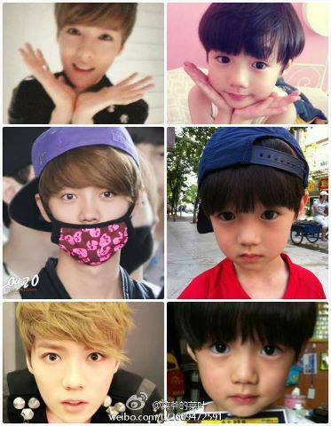 LUHAN ♥ Oh my goodness. You are so cute. It's a good