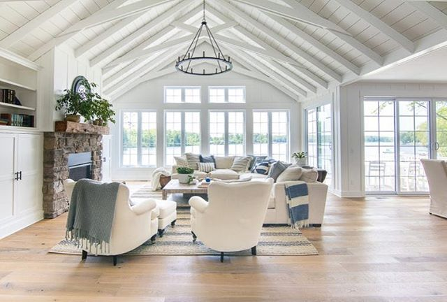 Feed Image Farm House Living Room Blue Living Room French